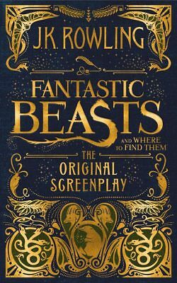 NEW Fantastic Beasts and Where to Find Them: The Original Screenplay Hardcover
