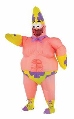 Rubies Inflatable Spongebob Patrick Mr Superawesomeness Halloween Costume 610810 (Spongebob Patrick Costumes Halloween)