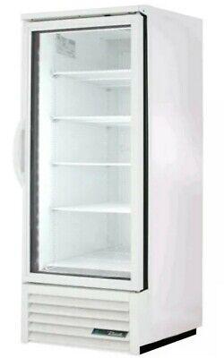 Reach-in Glass Door Refrigerator- All White