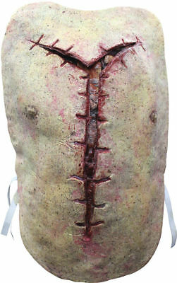 Morris Costumes Reveal Disgusting Autopsy Gruesome Latex Vest One Size. TB27047