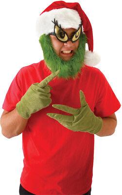 Grinch Fur (Morris Costumes Grinch Hat With fur Grinch Beard.)