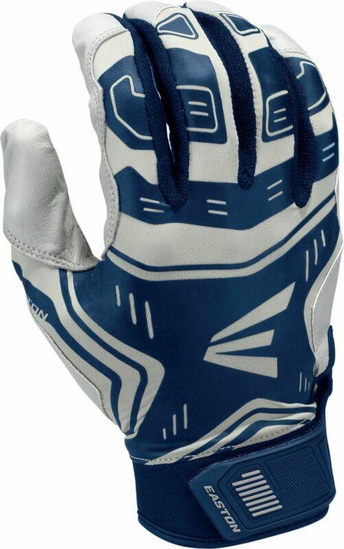 Easton Youth VRS Power Boost Batting Gloves GRAY | NAVY LG