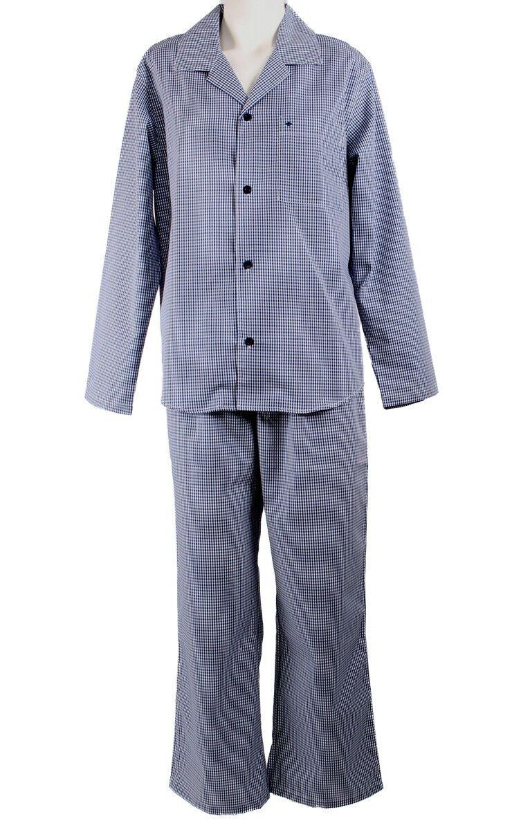 4c20dda414 Seidensticker Herren langer Pyjama Schlafanzug Lang Splendesto - 147409*