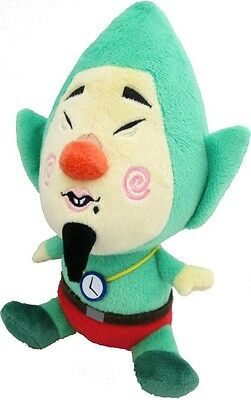 "Sale! Official Sanei Tingle 8"" Plush Stuffed Doll- Legend Of Zelda Wind Waker HD"