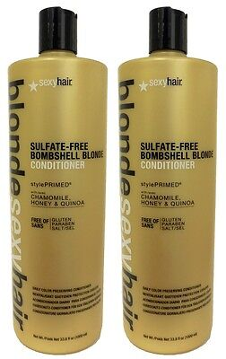 (Sexy Hair - Blonde Sexy Hair Bombshell Blonde Conditioner 33.8 oz (Pack of 2))