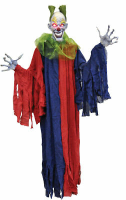 Evil Clown Decorations (Morris Costumes New Hanging Large Decoration & Props Evil Clown 60 Inches.)