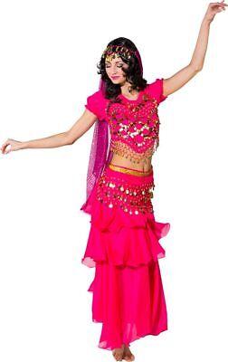 Orl - Damen Kostüm Orient Bauchtänzerin Bellydance Karneval Fasching   ()