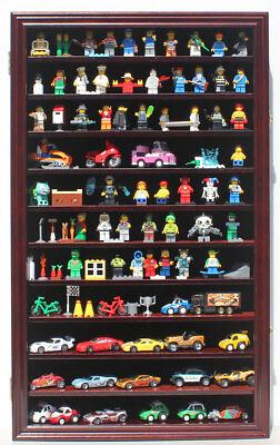 Hot Wheels 1:64 Scale / Minifigure Display Case Wall Cabinet, HW11-MAH