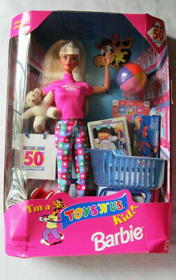 Barbie 50th Anniversary of Toys R Us, Lots of stuff in box Vintage Rare  # 18895