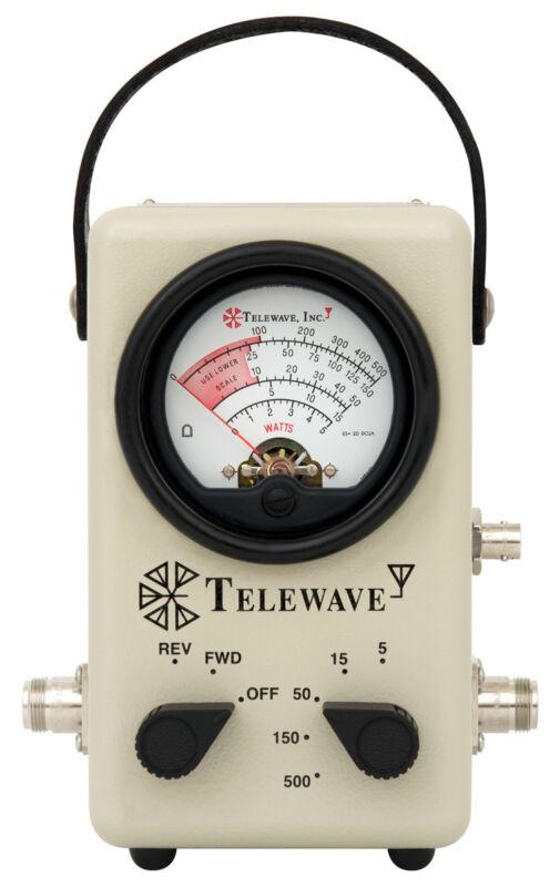 Telewave 44L1P Broadband 2-200 MHz RF Wattmeter 5-500W (New)
