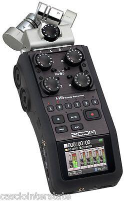 Zoom H6 6 Track Portable Handheld Digital