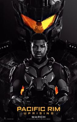 Pacific Rim Uprising - original DS movie poster - 27x40 D/S Advance, used for sale  USA