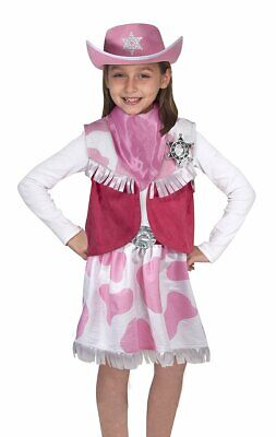 COWGIRL ROLE PLAY SET RODEO STAR CHILD TODDLER HALLOWEEN COSTUME SMALL 3-6 - Rodeo Star Kostüm