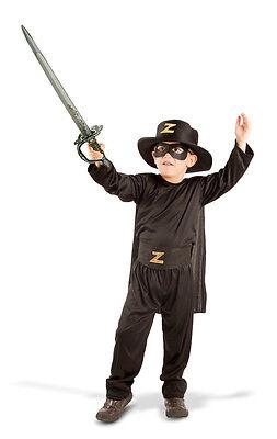 Zorro Kinderkostüm - Gr. 98-116 Fasching Karneval Kinder Kostüm