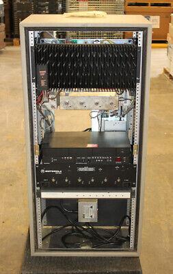 Motorola Msf5000 Uhf Repeater 100 Watts W Mrti 1000 435-470 Ham