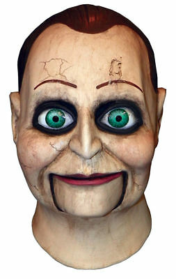 Morris Costumes Dead Silence Billy Puppet Latex Mask One Size. MAELUS101