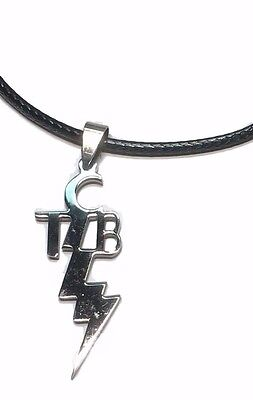 tcbebay 1 elvis tcb taking care of business pendant necklace w 16 leather chord mozeypictures Gallery