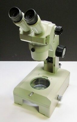Nikon Smz-1b Stereo Microscope With 15x14 Eyepieces Stand Base Glass Stage