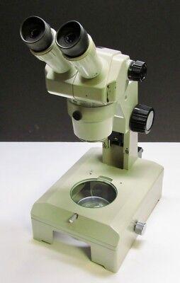 Nikon Smz-1b Stereo Microscope With 15x14 Eyepieces Stand Base Glass Stage