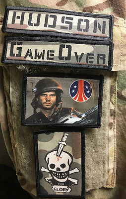Bill Paxton Hudson Aliens Morale Patch Lot Tactical Military Army