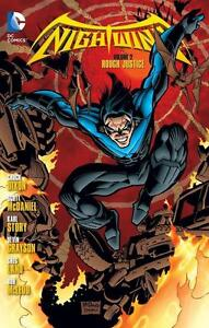 CHUCK DIXON-NIGHTWING VOL. 2: ROUGH JUSTICE  BOOK NEU