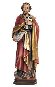 Statua-San-Pietro-cm-31-In-legno-scolpita-a-mano
