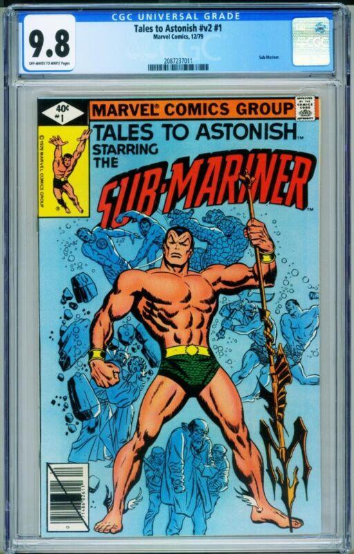 Tales to Astonish Vol.2 #1 CGC 9.8-Sub-Mariner-Marvel -2087237011