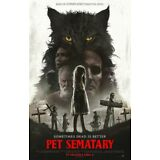 Pet Sematary - original DS movie poster 27x40 D/S FINAL - 2019 Stephen King