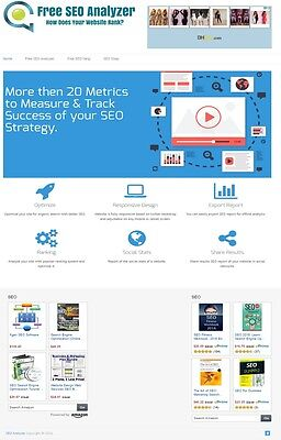 Seo Analyzer Tools Membership Website 4 Sale 100 Automated Mobile Responsive