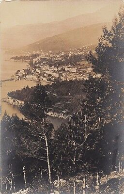 ABBAZIA OPATIJA BOSNIA BOSNIEN BOSNA~BÄHRENDT REAL PHOTO POSTCARD 1912