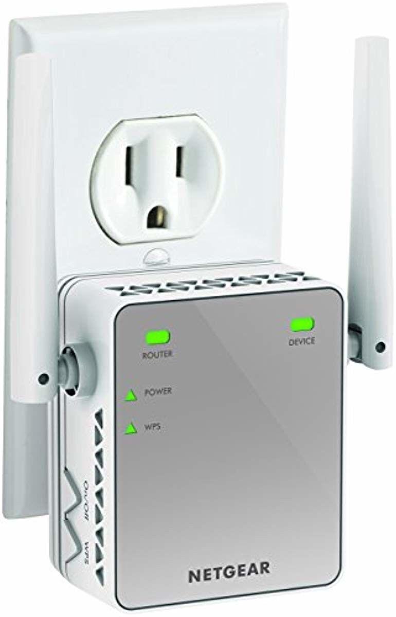 Netgear n300 Wifi Extender Range ex2700 5G Booster Wall-Plug