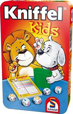 Schmidt KNIFFEL kids Kinder Spiel ab 5 J Kniffelblock Würfelbecher online kaufen