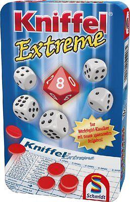 Schmidt KNIFFEL EXTREME Kinder Spiel ab 8 J Kniffelblock zehnseitiger Würfel online kaufen
