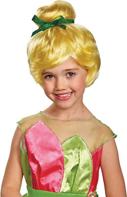 Morris Costumes Tinker Bell Child Tv & Movie Characters Wig One Size. DG52187