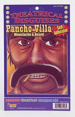Pancho Villa Mustache (Pancho Villa Moustache Self Adhesive Mexican Western Mustache Costume)