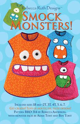 Smock Monsters pattern
