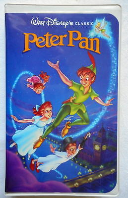 Rare 1990 Peter Pan Black Diamond Edition The Classics Collection VHS Tape