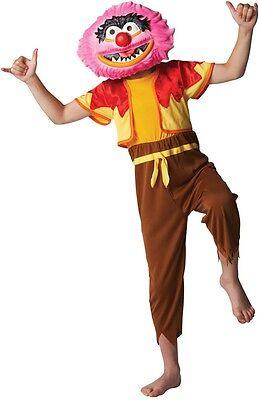 Jungen Tier + Maske 1960er Jahre die Muppets Cartoon Film Kostüm Kleid Outfit ()