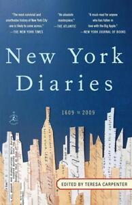 New York Diaries von Teresa Carpenter (2012, Taschenbuch)