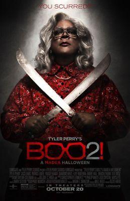 Boo 2 A Madea Halloween - original DS movie poster - 27x40 D/S FINAL