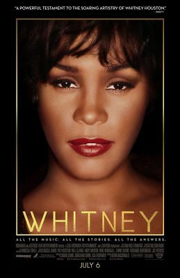 Whitney - original DS movie poster - 27x40 D/S Whitney Houston