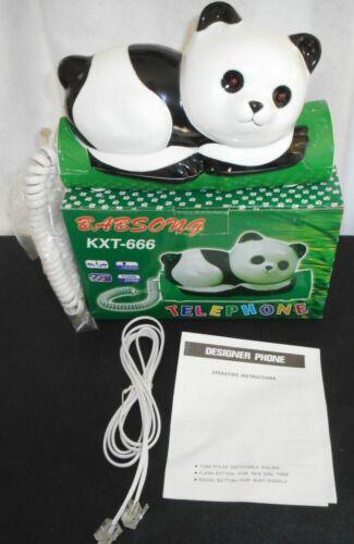 Vintage Novelty Panda Telephone