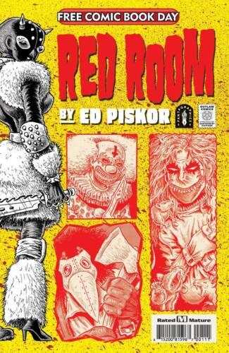 Red Room 2021 FCBD Edition Clean Copy Fantagraphics Books Presale 8/14