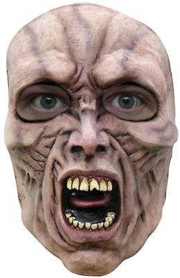 Morris Costumes Latex World War Z Face Mask Scream Zombie 2 One Size. TB10102 (Halloween Wars Zombie)
