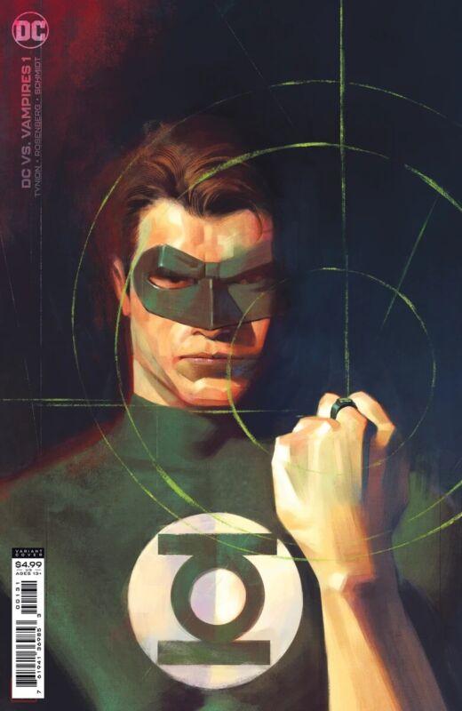 DC vs Vampires #1 Jorge Molina 1:25 Variant 9.6-9.8