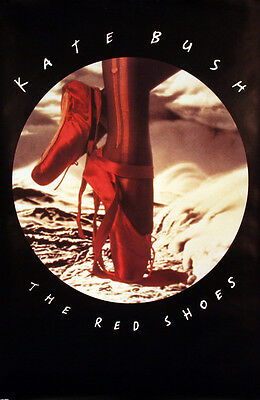 KATE BUSH 1993 THE RED SHOES PROMO POSTER