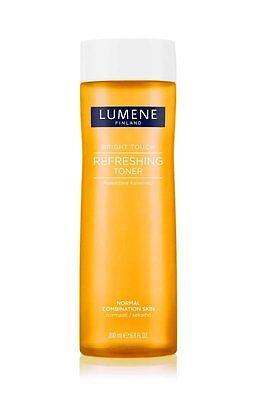 Lumene Bright Touch Refreshing Toner Detoxifying Cleansing Normal Combi Skin HTF