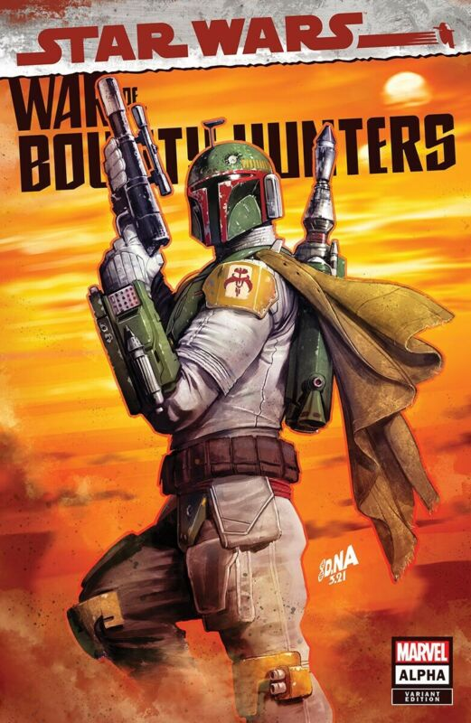 🚨🔥 STAR WARS WAR OF THE BOUNTY HUNTERS ALPHA #1 NAKAYAMA Trade Dress Variant