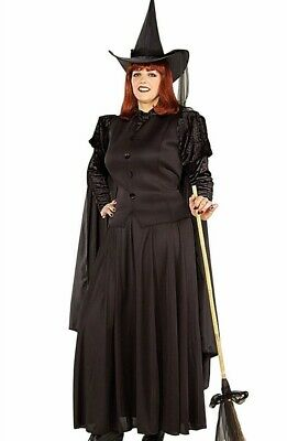 Wicked Witch Costume (Adult Classic Wizard of Oz Wicked Witch of the West Costume - Plus Size)
