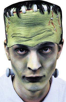 Morris Costumes Frankenstein Monster Headpiece Bolts No Hair Latex Mask.